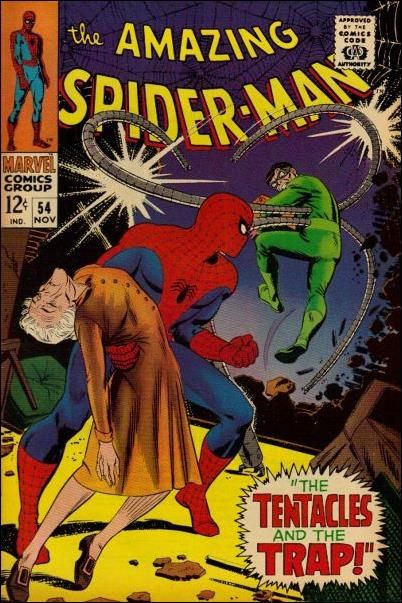 Amazing Spider-Man (1963) 54-A by Marvel