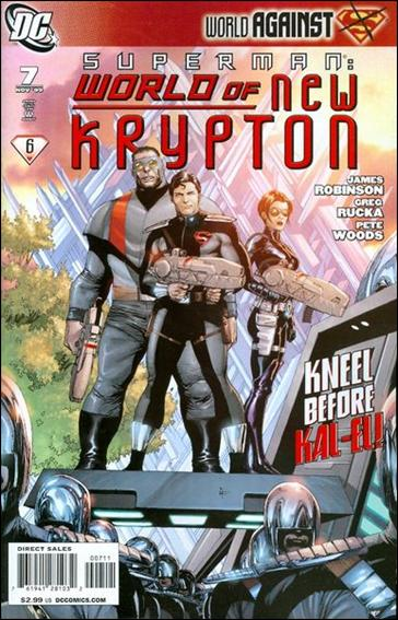 Superman: World of New Krypton 7-A by DC