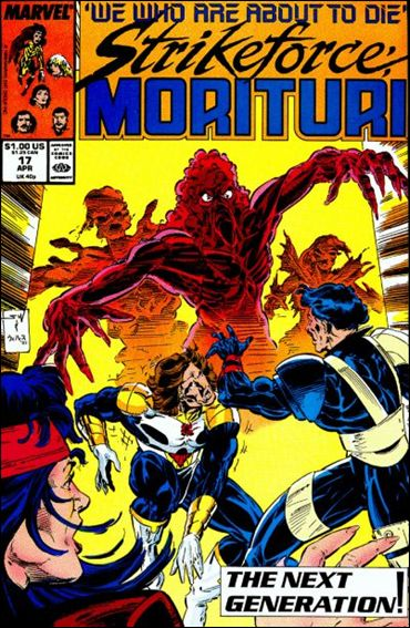 Strikeforce: Morituri 17-A by Marvel