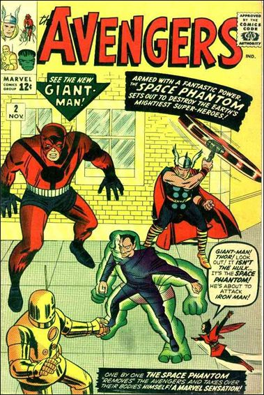 Avengers (1963) 2-A by Marvel
