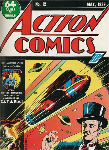 Action Comics (1938) 12-A by DC