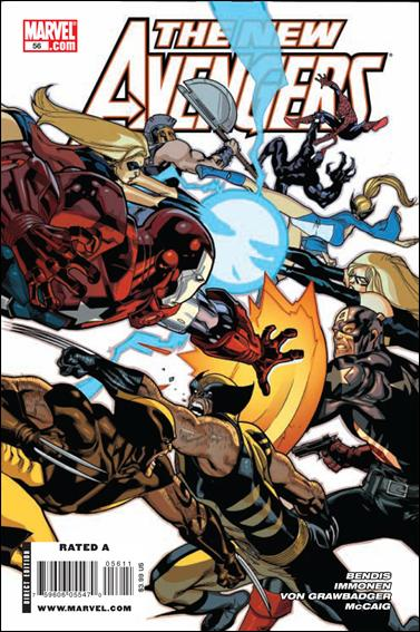 New Avengers (2005) 56-A by Marvel