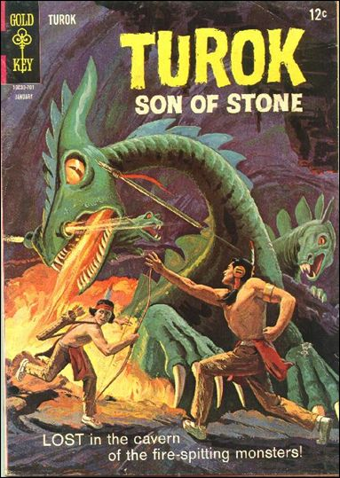 Turok, Son of Stone (1956) 55-A by Gold Key