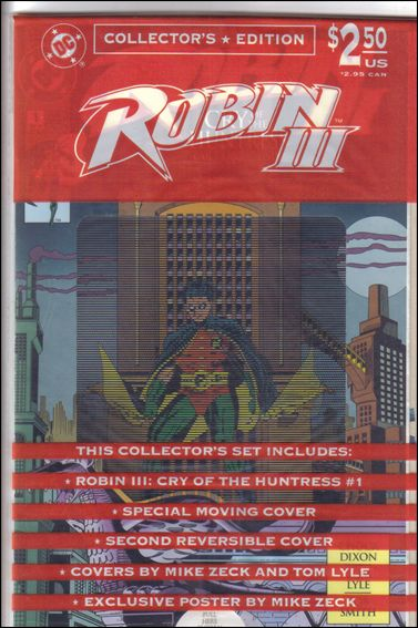 Robin III: Cry of the Huntress 1-B by DC