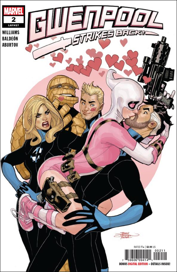 Gwenpool Strikes Back 2-A by Marvel