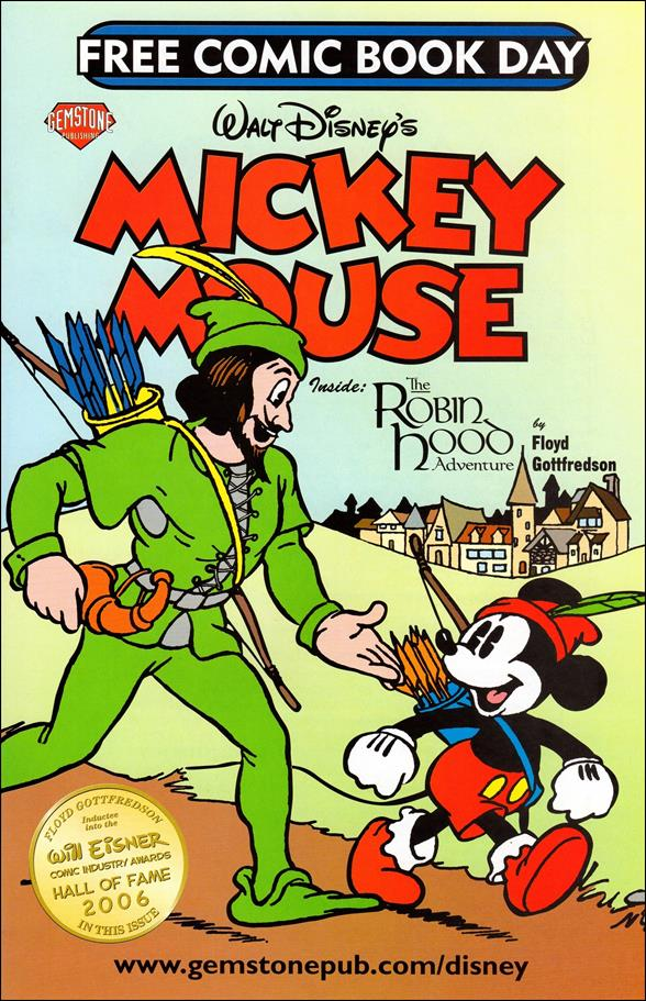 Walt Disney's Mickey Mouse - Free Comic Book Day 2007-A by Gemstone