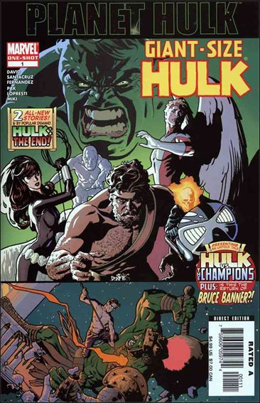 Giant-Size Hulk (2006) 1-A by Marvel
