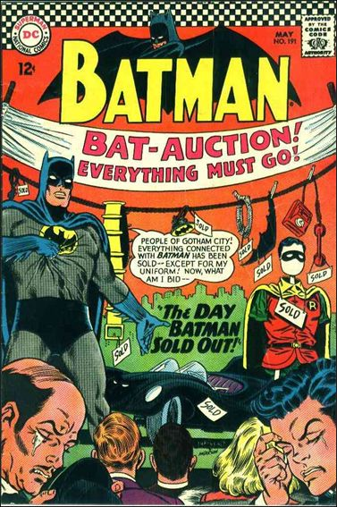 Batman (1940) 191-A by DC