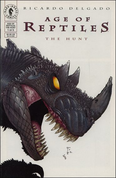 Age of Reptiles: The Hunt 1-A by Dark Horse