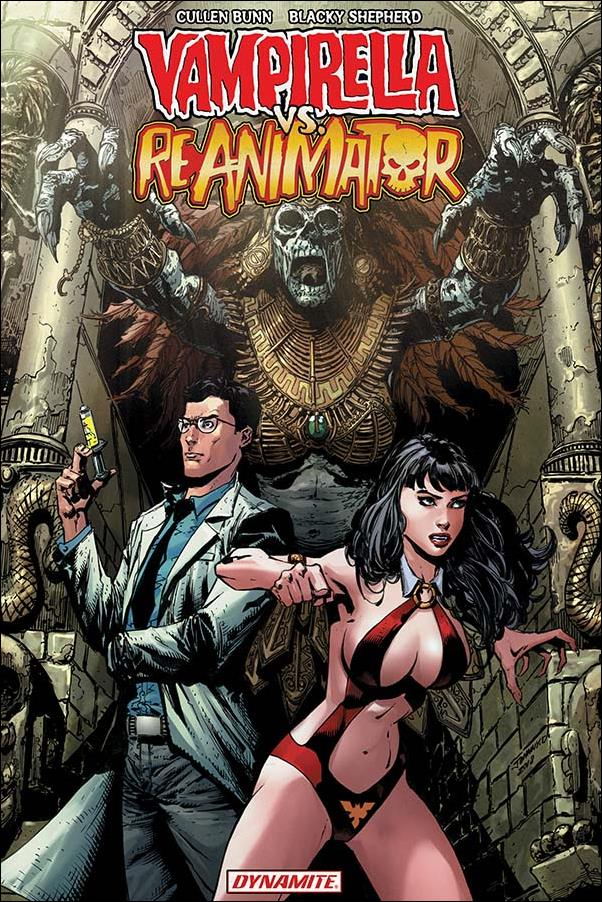 Vampirella vs Reanimator nn-A by Dynamite Entertainment
