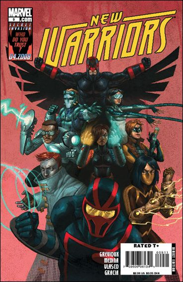 New Warriors (2007) 9-A by Marvel