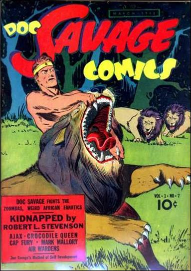 Doc Savage Comics (1940) 7-A by Street and Smith Publications
