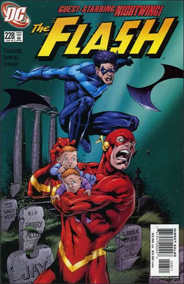 Flash (1987) 228-A by DC