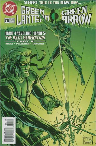 Green Lantern (1990) 76-A by DC