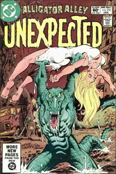 Unexpected (1968) 218-A by DC