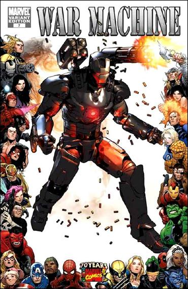 War Machine (2009) 9-B by Marvel