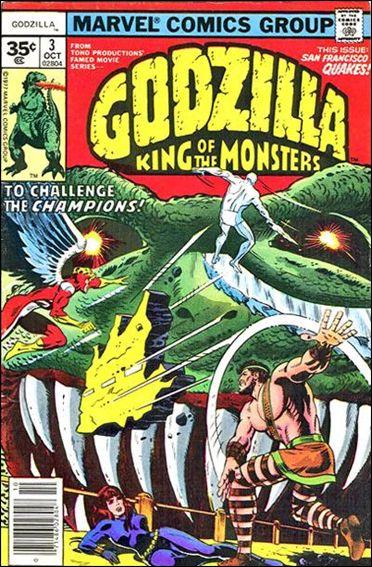 Godzilla (1977) 3-B by Marvel