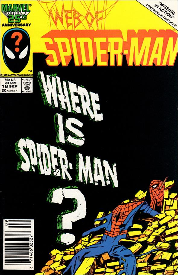 Web of Spider-Man (1985) 18-A by Marvel