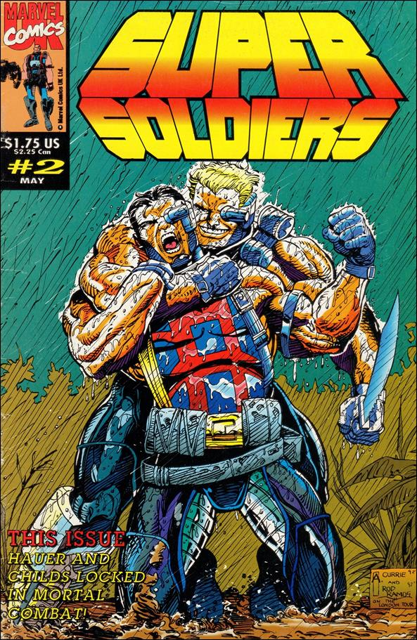 Supersoldiers (UK) 2-A by Marvel UK