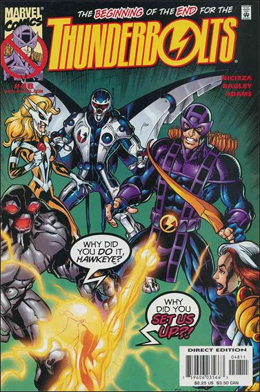 Thunderbolts (1997) 48-A by Marvel