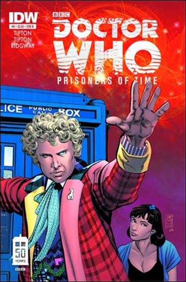 Doctor Who: Prisoners Of Time  6-B by IDW