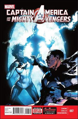 Captain America & The Mighty Avengers 7-A