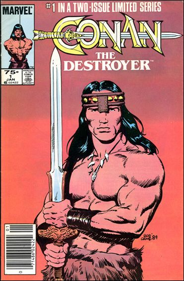 Conan the Destroyer 1-A by Marvel
