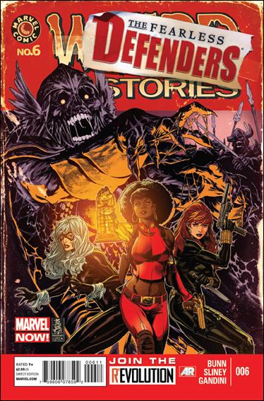 Fearless Defenders 6-A by Marvel