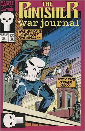 Punisher War Journal 48 A, Nov 1992 Comic Book By Marvel