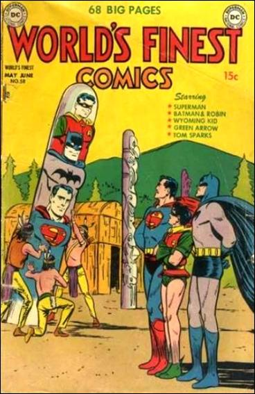 World's Finest Comics 58-A by DC