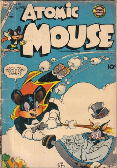 Atomic Mouse (1953) 7-A by Charlton