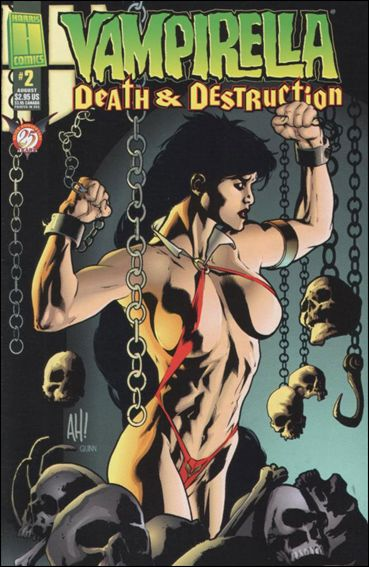 Vampirella: Death &amp; Destruction 2-A by Harris