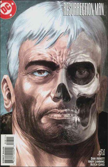 Resurrection Man (1997) 8-A by DC