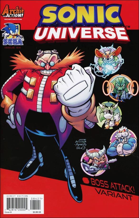 Sonic Universe 84-B