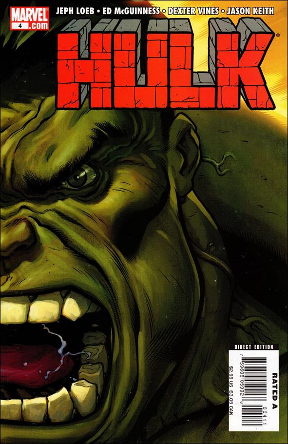 Hulk (2008)  4-B by Marvel