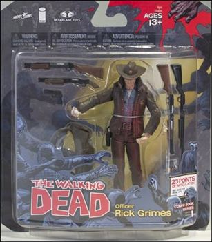 "Walking Dead (Comic Book Series 1) ""Bloody"" Officer Rick Grimes"