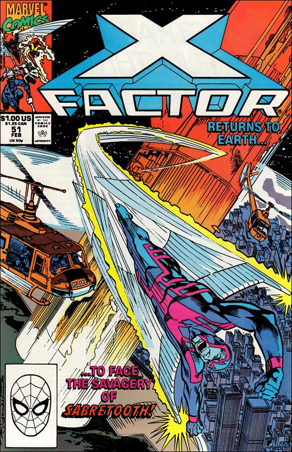 X-Factor (1986) 51-A by Marvel