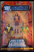 DC Universe: Justice League Unlimited - Fan Collection (3-Packs) Black Vulcan / Apache Chief / Samurai