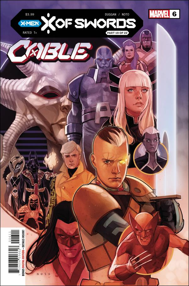 Cable (2020) 6-A by Marvel