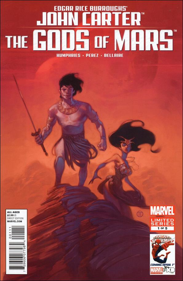 John Carter: The Gods of Mars 1-A by Marvel