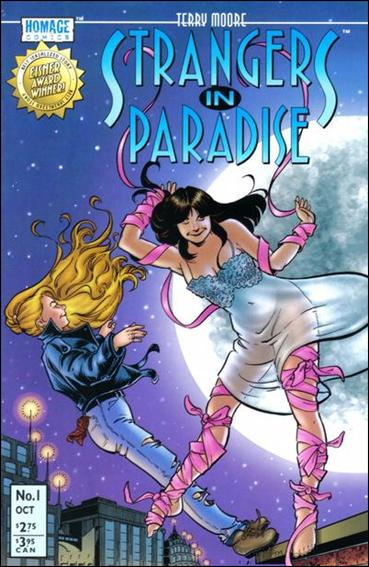Terry Moore's Strangers in Paradise 1-A by Abstract Studio