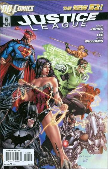 Justice League (2011) 5-D by DC