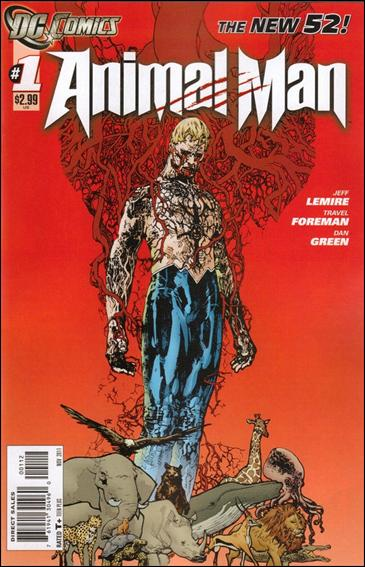 Animal Man (2011) 1-B by DC