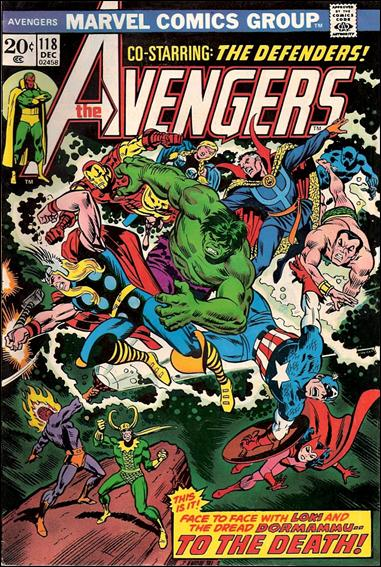 Avengers (1963) 118-A by Marvel