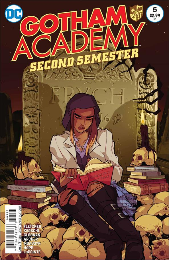 Gotham Academy: Second Semester 5-A by DC
