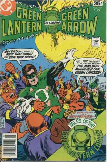 Green Lantern (1960) 107-A by DC