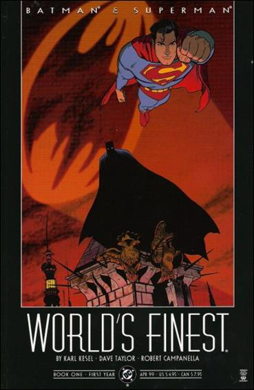 Batman and Superman: World's Finest 1-A by DC
