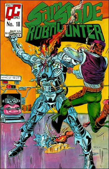 Sam Slade Robo Hunter (UK) 18-A by Quality Comics