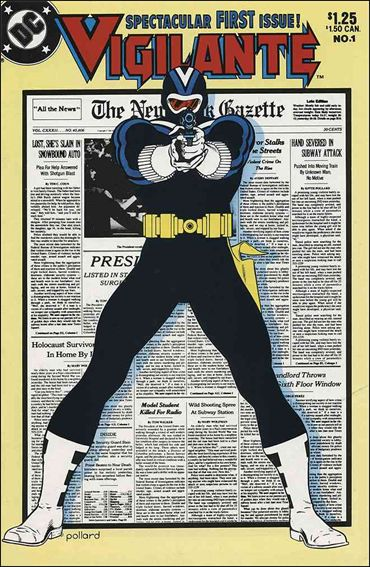 Vigilante (1983) 1-A by DC