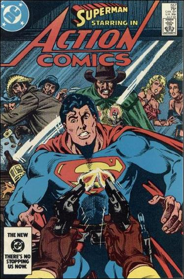 Action Comics (1938) 557-A by DC